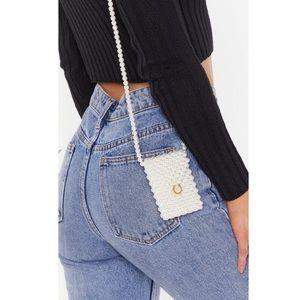 Mini Pearl Crossbody Bag